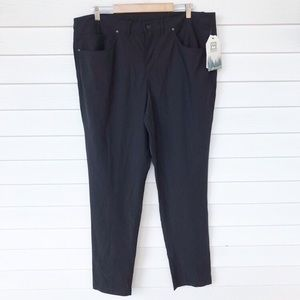 Avalanche pants black hiking outdoor lightweight